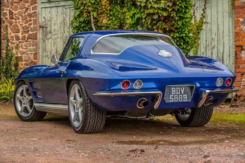 1964 Chevrolet Corvette Sting Ray Restomod Back