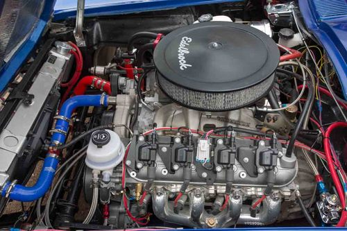 1964 Chevrolet Corvette Sting Ray Restomod Engine Bay