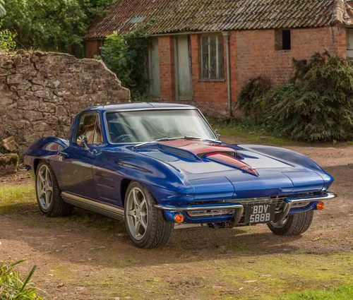 1964 Chevrolet Corvette Sting Ray Restomod Front 2