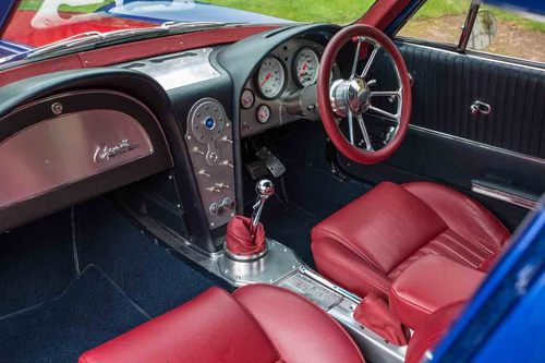 1964 Chevrolet Corvette Sting Ray Restomod Interior Dashboard