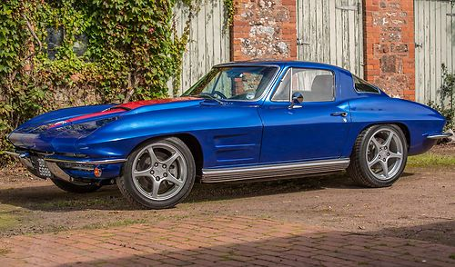 1964 Chevrolet Corvette Sting Ray Restomod Left Side