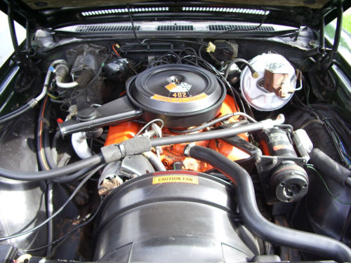 1971 Chevrolet Monte Carlo Engine Bay 2