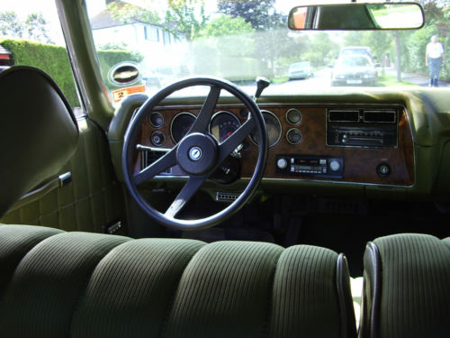 1971 Chevrolet Monte Carlo Interior Dashboard