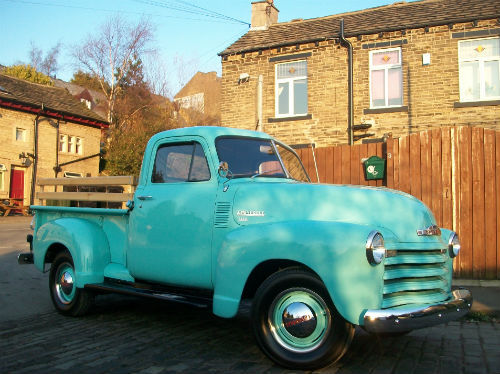 1951 chevrolet thriftmaster 3100 stepside bodied pick up 1