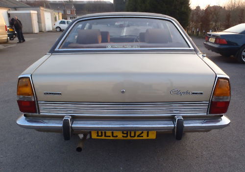 1978 chrysler 2.0 litre automatic saloon 3