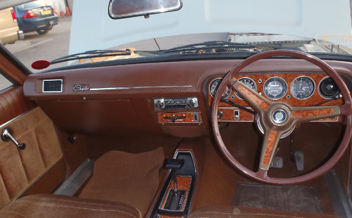 1978 chrysler 2.0 litre automatic saloon dashboard