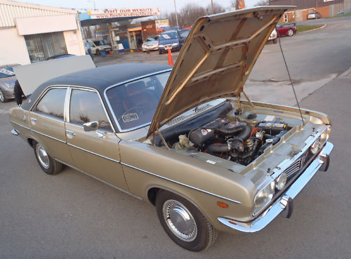 1978 chrysler 2.0 litre automatic saloon engine bay 1