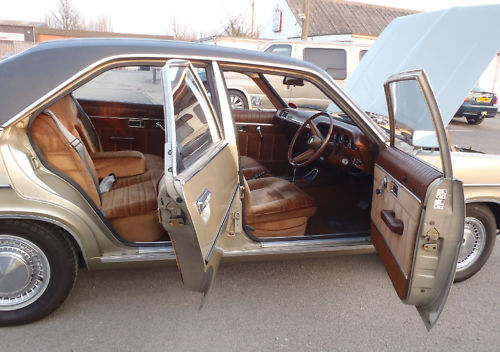 1978 chrysler 2.0 litre automatic saloon interior 1