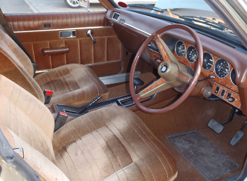 1978 chrysler 2.0 litre automatic saloon interior 2