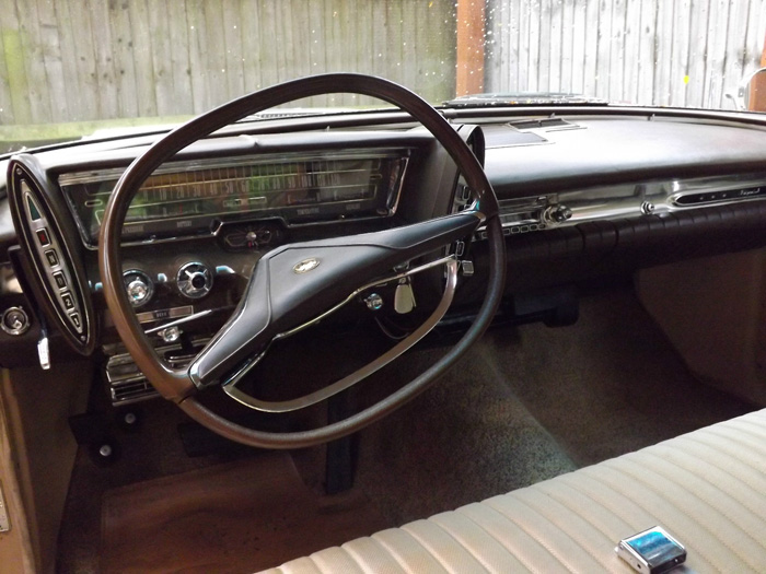 1963 Chrysler Imperial Custom Hardtop Interior Dashboard