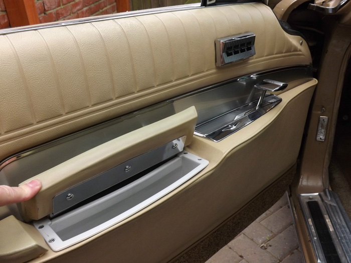 1963 Chrysler Imperial Custom Hardtop Interior Door