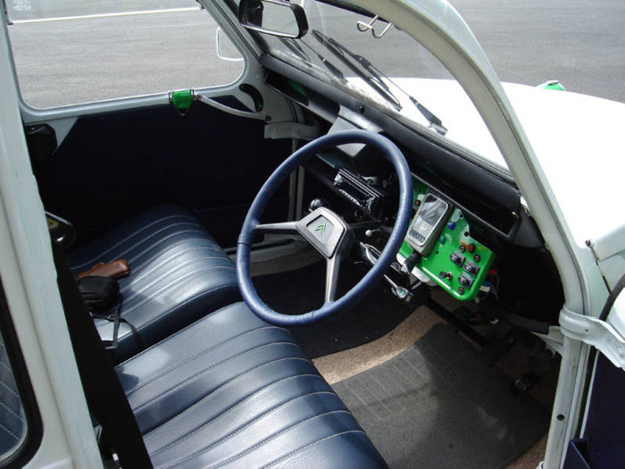1989 citroen 2cv dolly interior