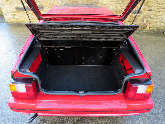 1989 Citroen BX 16 RS Pilot SE Boot