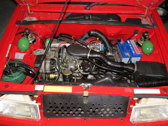 1989 Citroen BX 16 RS Pilot SE Engine Bay