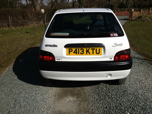 1996 Citroen Saxo LX Back