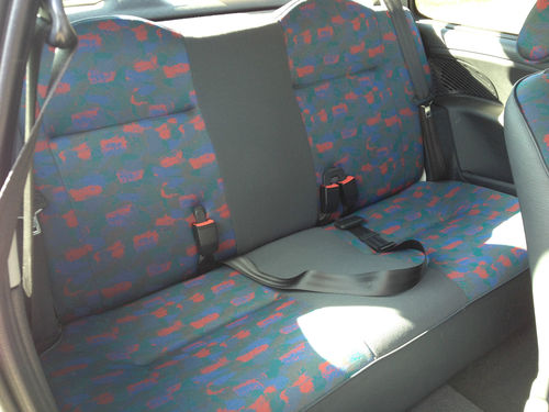 1996 Citroen Saxo LX Rear Interior