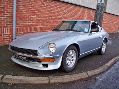 1973 datsun 240z historic rally 1