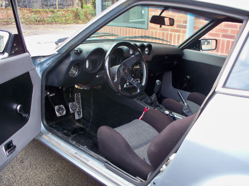 1973 datsun 240z historic rally interior 1