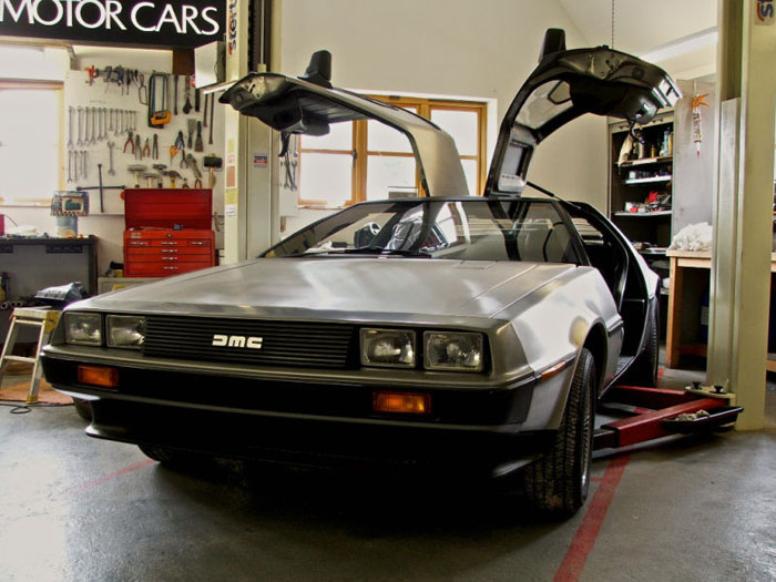 1981 delorean vin 510 unique prototype rhd 1