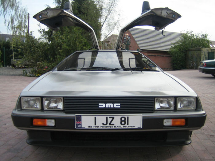 1981 delorean vin 510 unique prototype rhd front