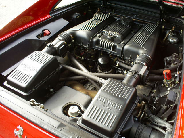 1995 Ferrari F355 GTS Engine Bay