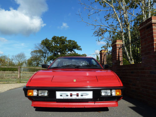 1985 ferrari mondial 3.0 qv coupe in rosso red front