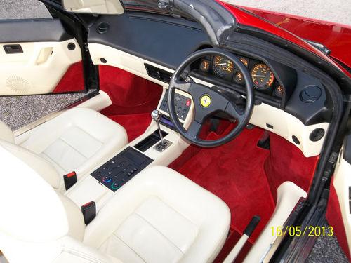 featured cars ferrari mondial 1990 ferrari mondial ref 683. Black Bedroom Furniture Sets. Home Design Ideas