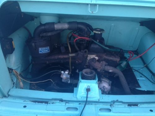 1974 Fiat 126 Engine Bay