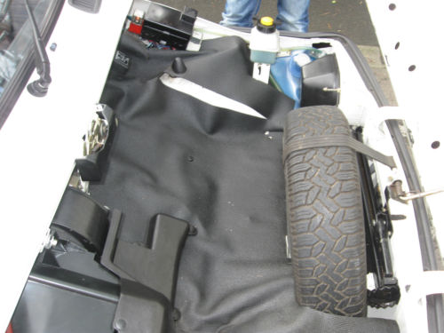 1989 Fiat 126 BIS Engine Bay Covered