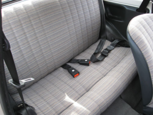 1989 Fiat 126 BIS Rear Interior