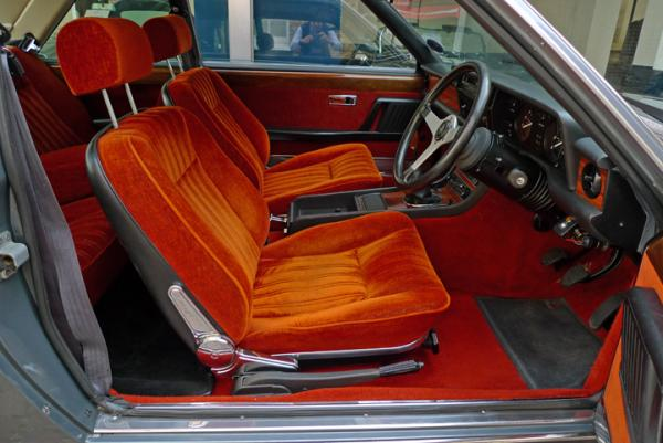 1978 Fiat 130 Coupe Front Interior
