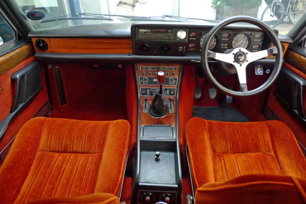 1978 Fiat 130 Coupe Interior
