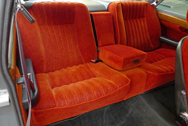 1978 Fiat 130 Coupe Rear Seats