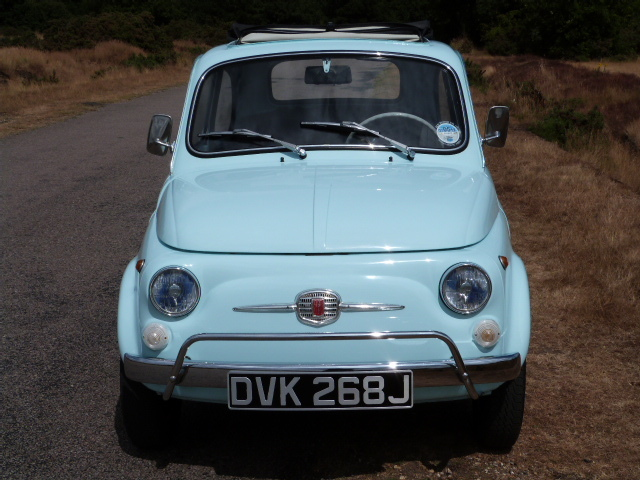1971 Fiat 500F Front