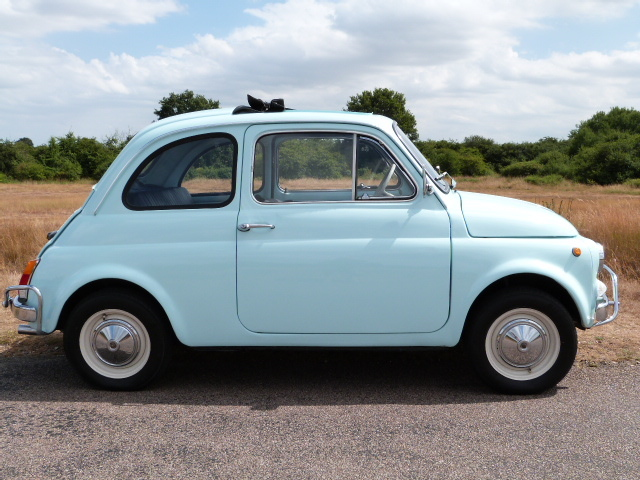 1971 Fiat 500F Right Side