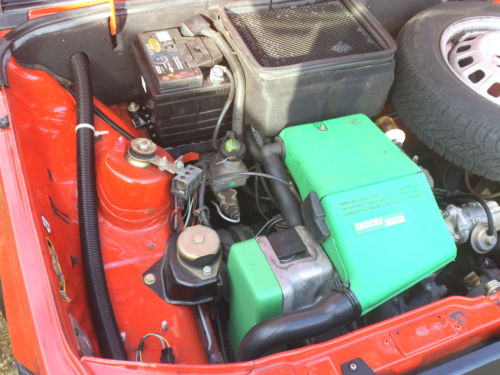 1992 Fiat Panda 750 Mania Engine Bay