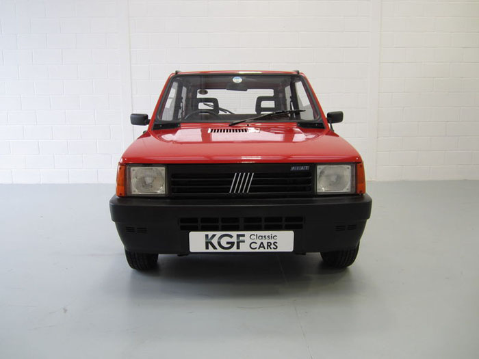 1993 special edition fiat panda fizz front