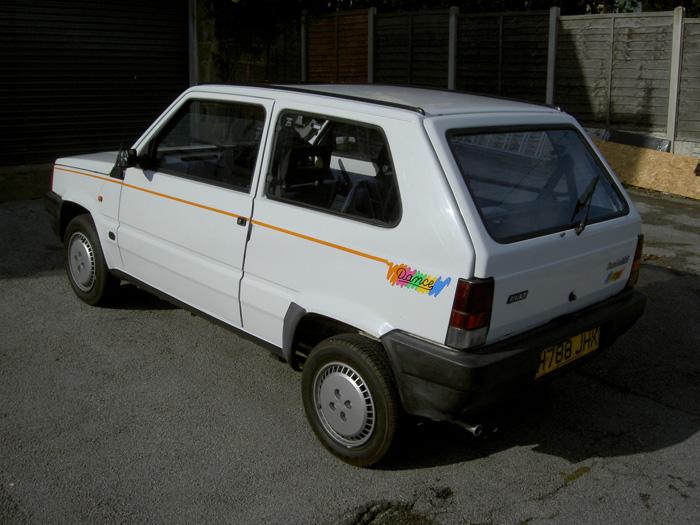featured cars fiat panda 1990 fiat panda dance ref 849. Black Bedroom Furniture Sets. Home Design Ideas