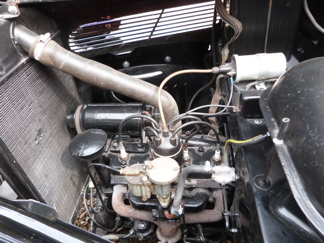 1953 Ford Anglia Engine Bay