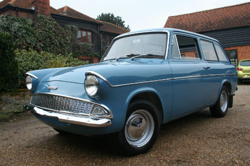 1963 Ford Anglia 105E Deluxe Combi Estate 1
