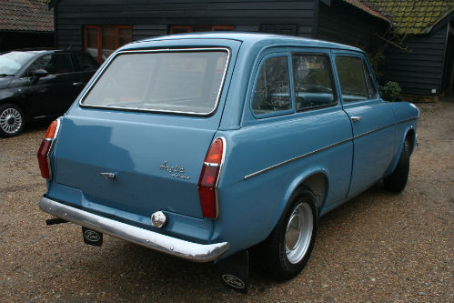 1963 Ford Anglia 105E Deluxe Combi Estate 3