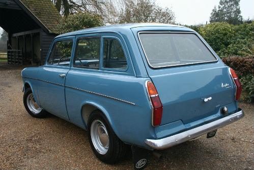1963 Ford Anglia 105E Deluxe Combi Estate 4