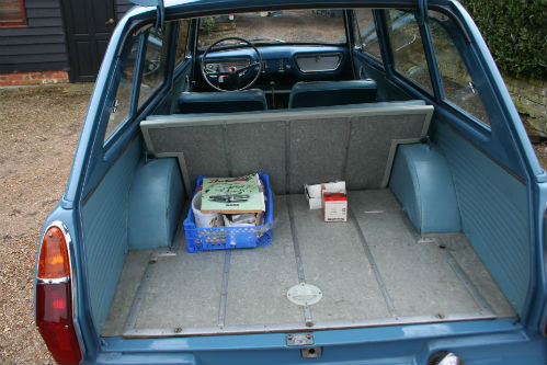 1963 Ford Anglia 105E Deluxe Combi Estate Boot