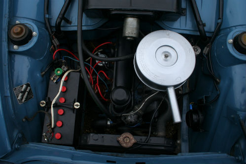 1963 Ford Anglia 105E Deluxe Combi Estate Engine Bay