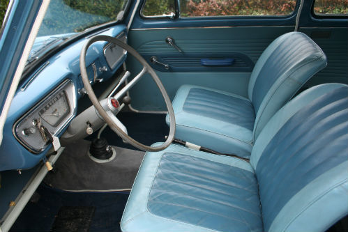 1963 Ford Anglia 105E Deluxe Combi Estate Front Interior