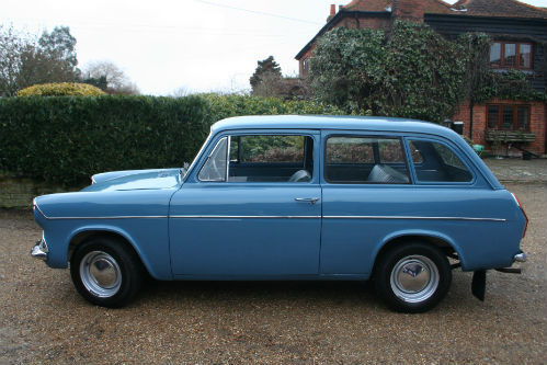 1963 Ford Anglia 105E Deluxe Combi Estate Left Side