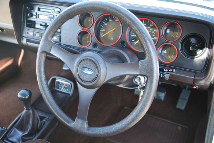 1980 ford capri gt4 dashboard