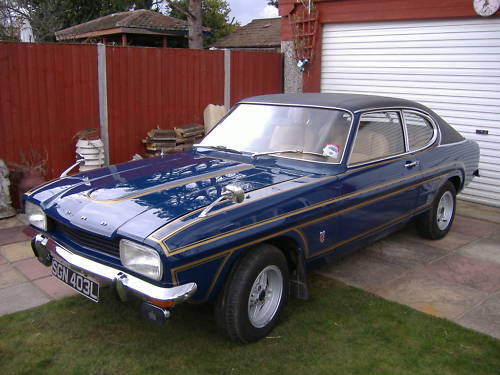 ford mark 1 capri 2.0 ltr gt auto 1