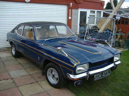 ford mark 1 capri 2.0 ltr gt auto 3