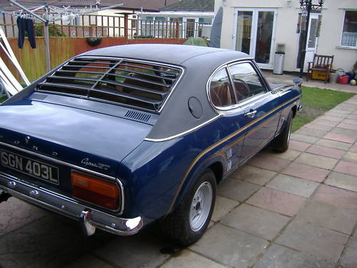 ford mark 1 capri 2.0 ltr gt auto 4